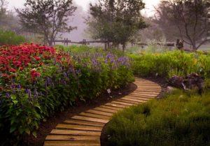 L'un des nombreux jardins thématiques du Jardin botanique du Nouveau-Brunswick